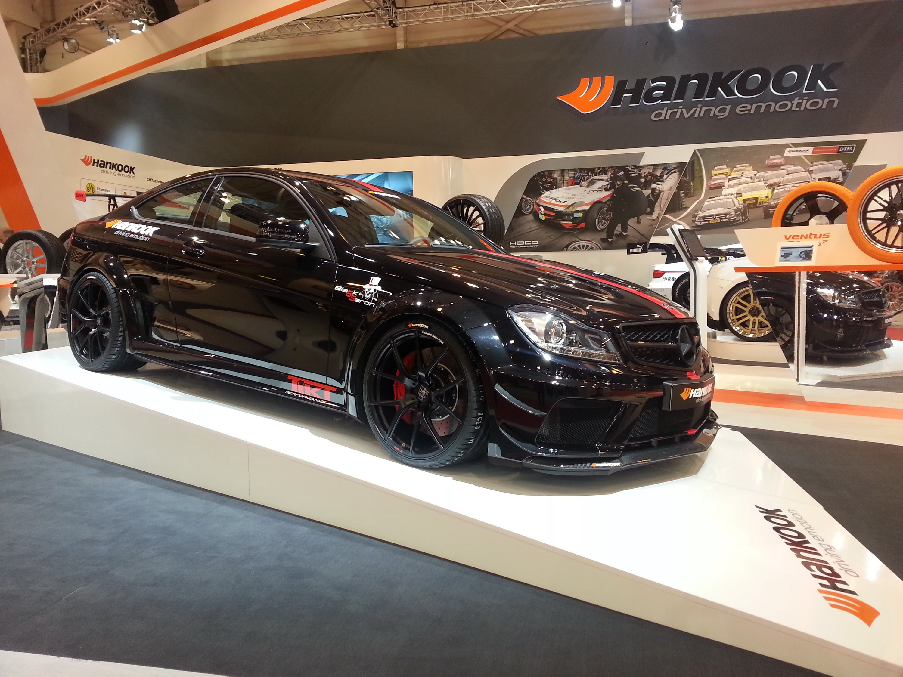 2013 mercedes-benz c63 amg black baron by tikt review