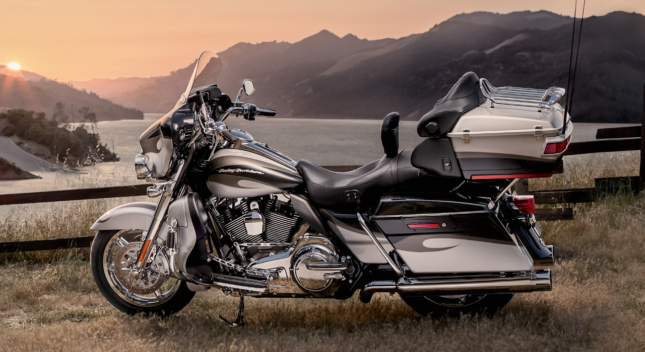 2013 Harley Davidson Cvo Ultra Classic Electra Glide Top