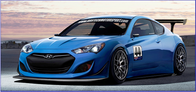 2013 hyundai genesis coupe gt race car by austech motorsport review top speed. Black Bedroom Furniture Sets. Home Design Ideas