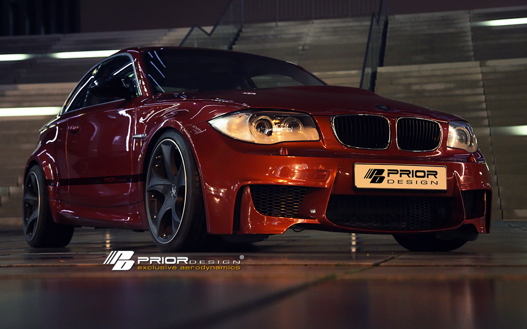 Bmw 1 Series Coupe Gets 1m Look From Prior Design Top Speed