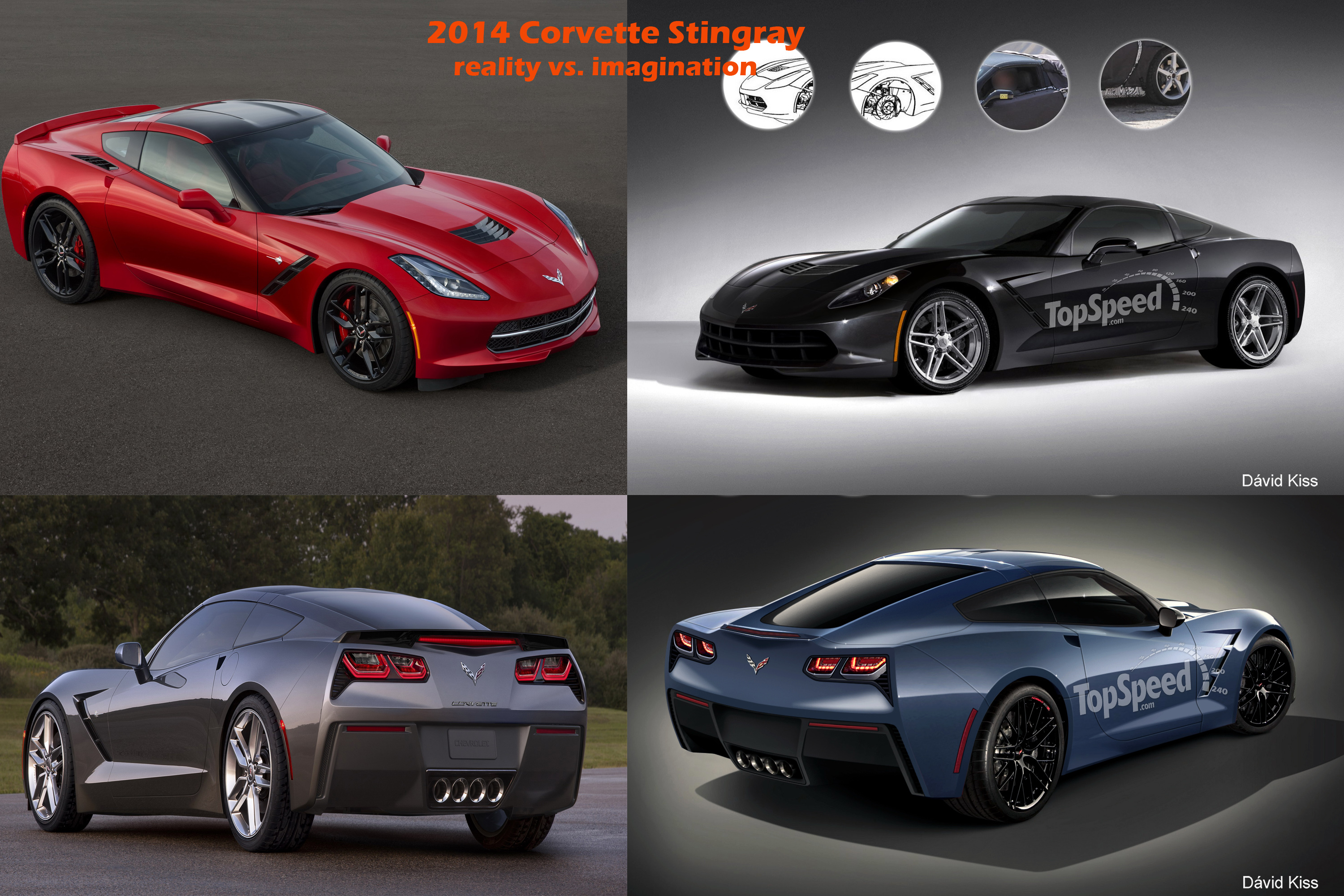 The C7 Corvette Is Out Renderings Vs Reality News Top Speed