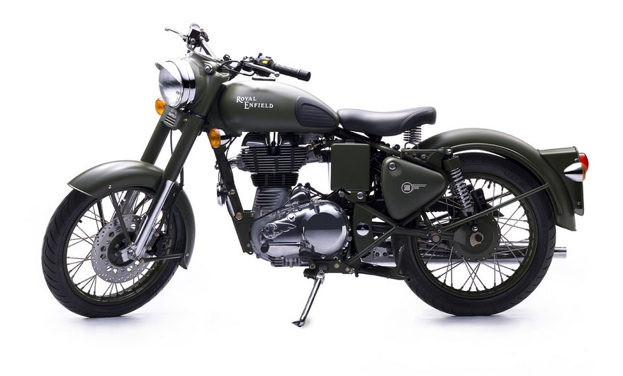2013 Royal Enfield Bullet C5 Military Review Top Speed