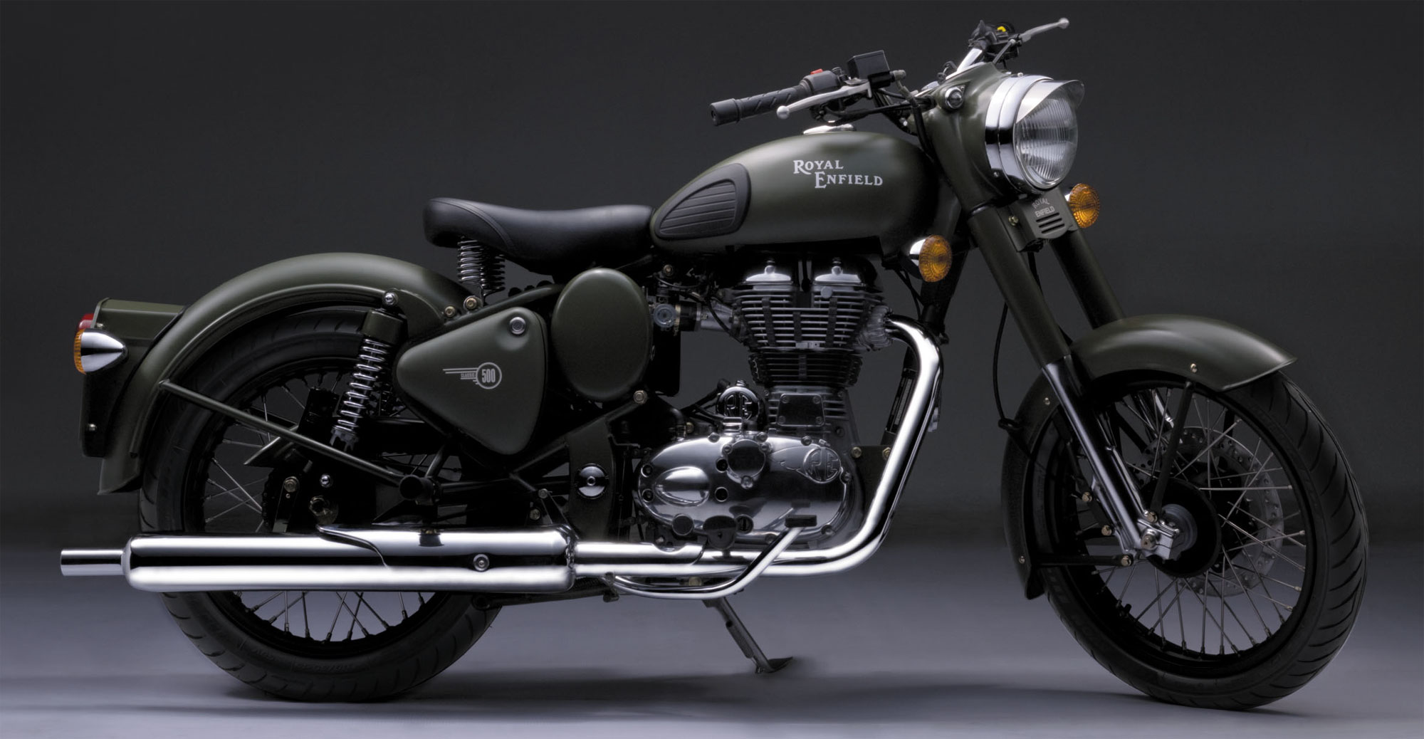 2013 Royal Enfield Bullet C5 Military Pictures Photos Wallpapers