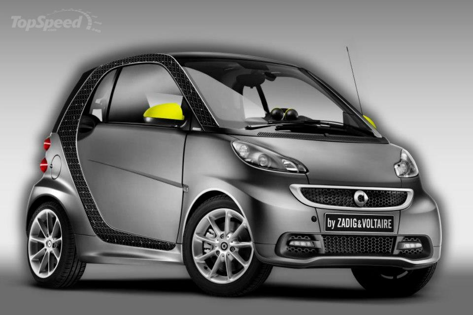 2013 Smart ForTwo By Zadig & Voltaire