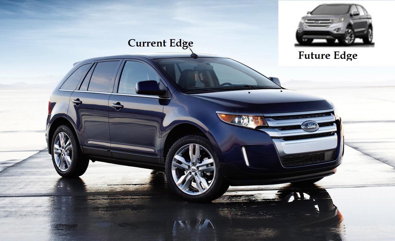 It looks like ford is preparing to surprise us with a new generation edge crossover and if the first leaked image turns out to be true it will be quite a