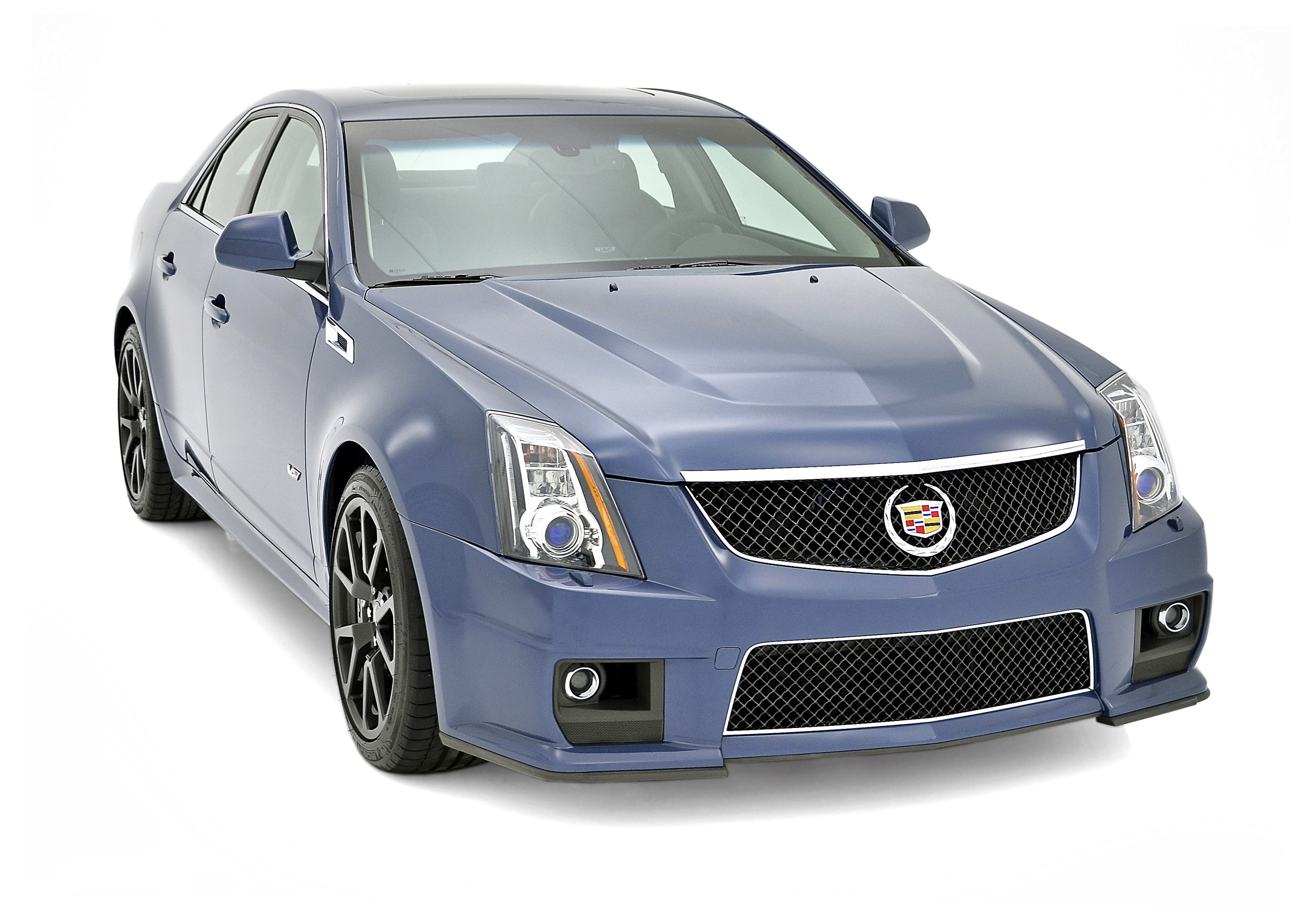 Cadillac Ats Coupe >> 2013 Cadillac CTS-V Silver Frost And Stealth Blue Limited ...