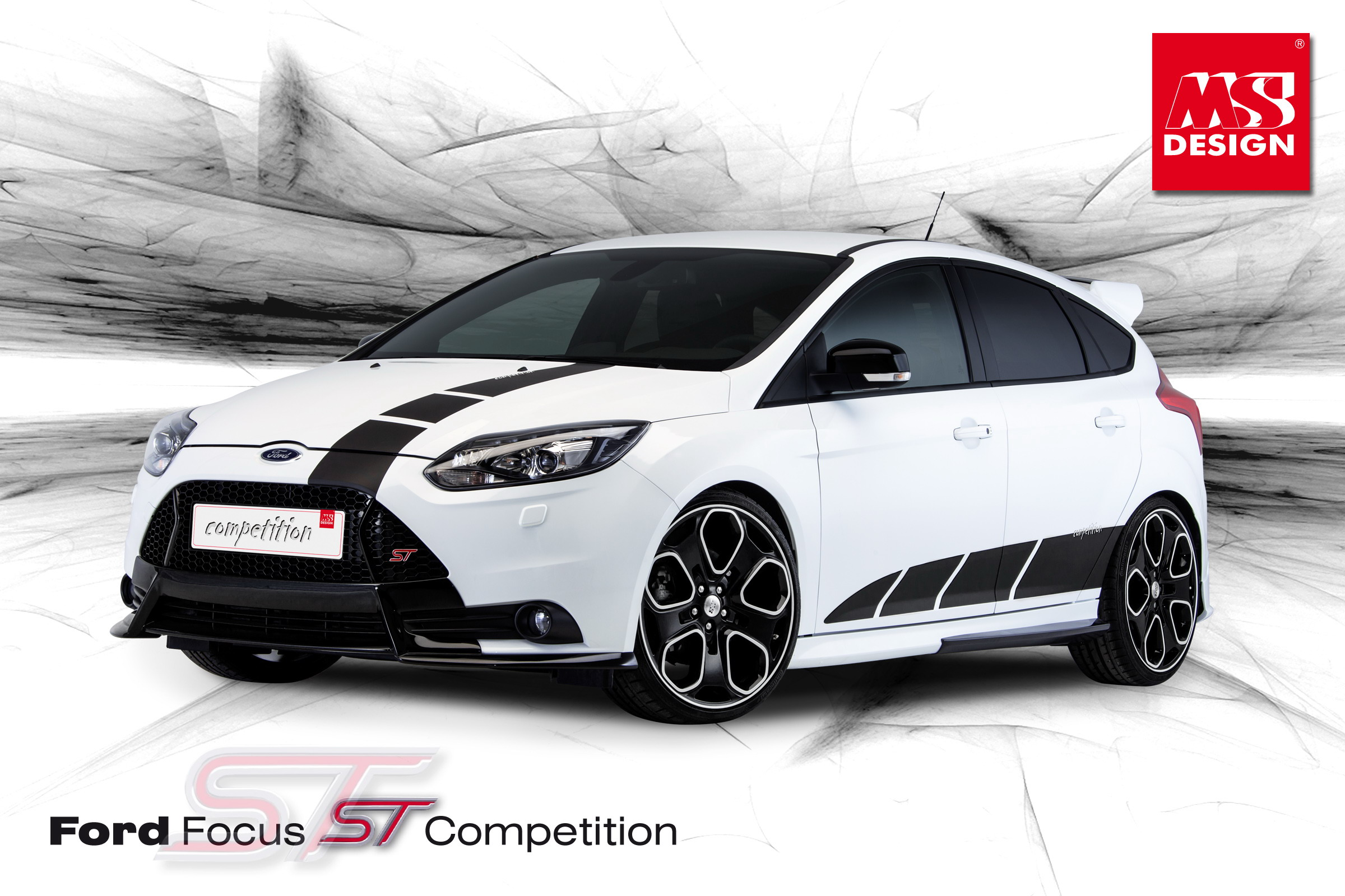 ms design will unveil ford focus st competition kit in geneva news top speed. Black Bedroom Furniture Sets. Home Design Ideas