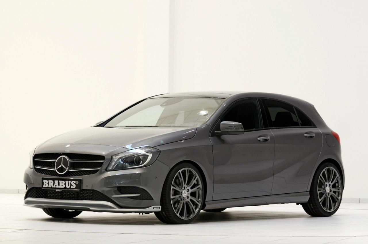 2013 mercedes benz a200 cdi by brabus top speed. Black Bedroom Furniture Sets. Home Design Ideas