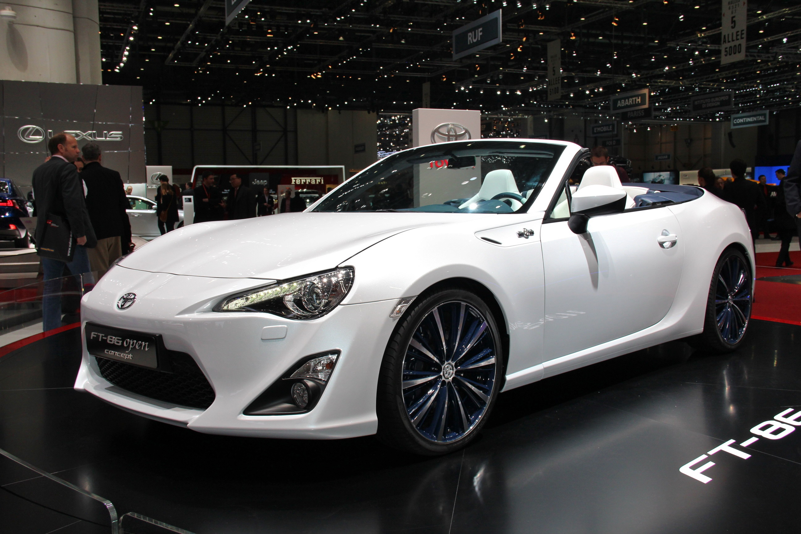 2013 toyota ft 86 open top concept gallery 497249 top speed. Black Bedroom Furniture Sets. Home Design Ideas