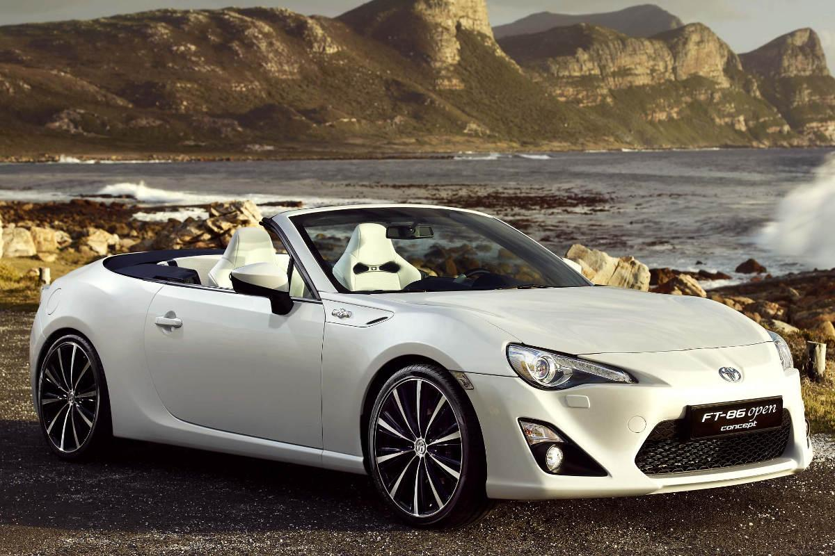 Toyota Ft 86 >> 2013 Toyota FT 86 Open Top Concept | Top Speed