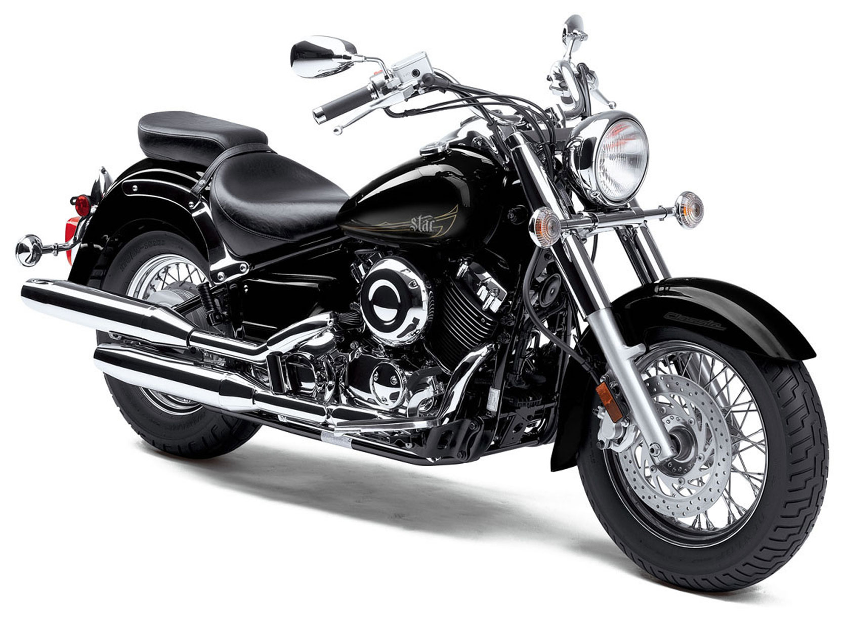 2013 yamaha v star 650 classic pictures photos wallpapers top speed. Black Bedroom Furniture Sets. Home Design Ideas