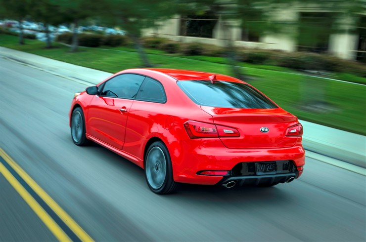 2014 Kia Forte Koup SX | Top Speed. »