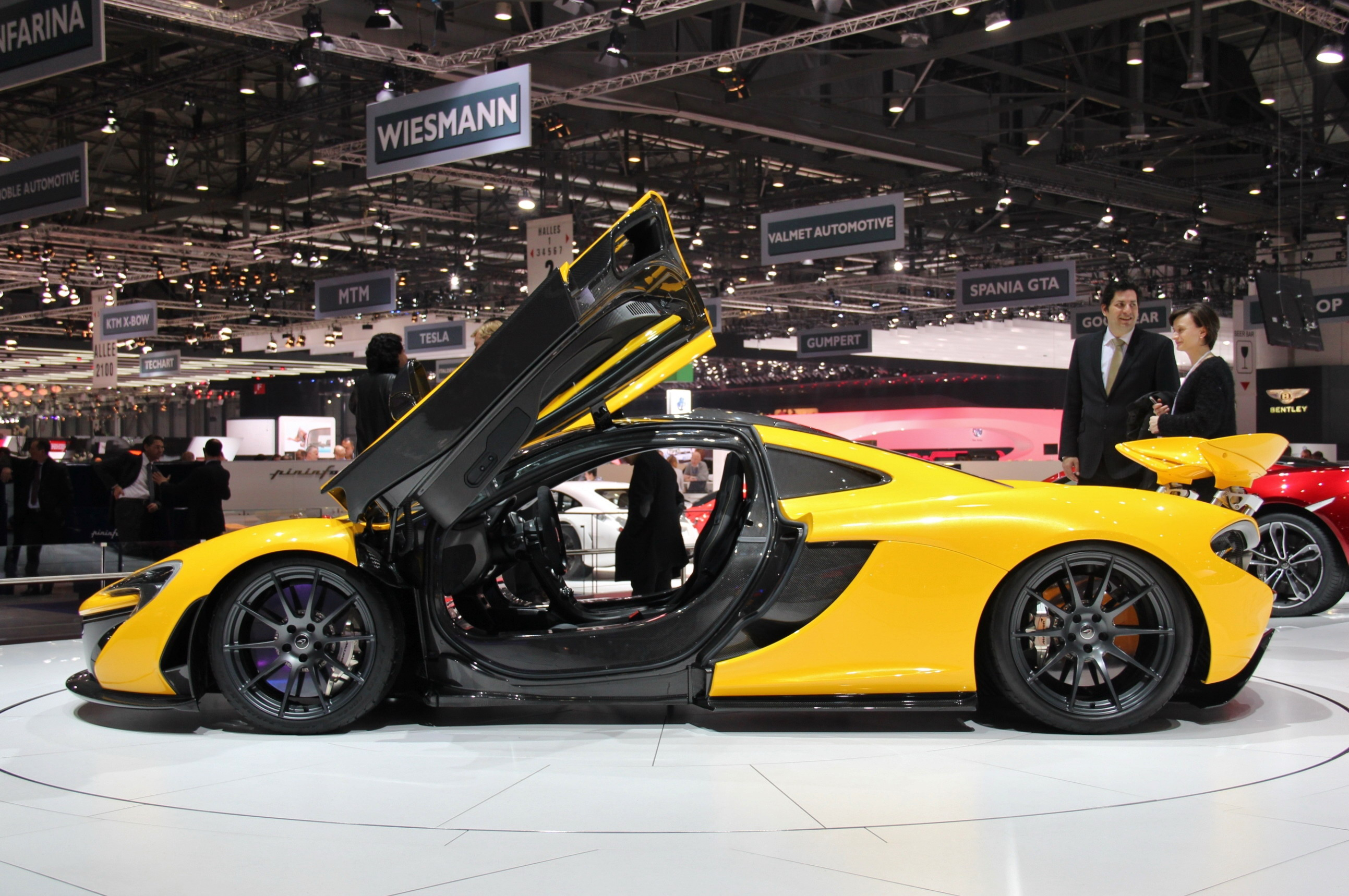 2014 McLaren P1 | Top Speed. »