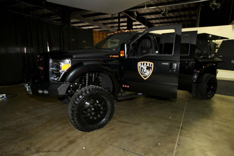 2012 Ford F 450 5 11 Tactical B E A S T By Galpin Auto