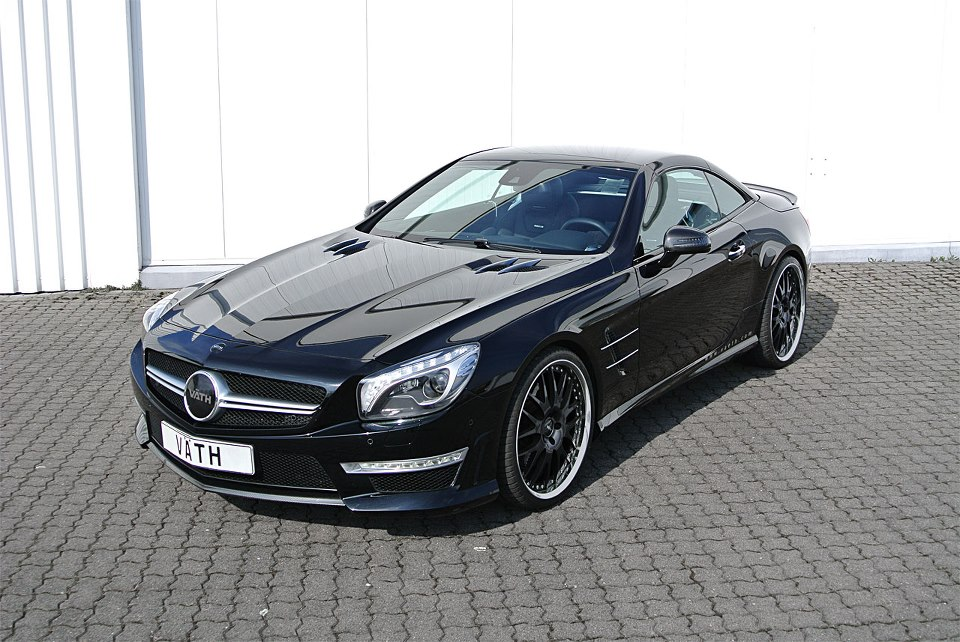 2013 Mercedes SL63 AMG V63RS-Export SL By Vath   Top Speed