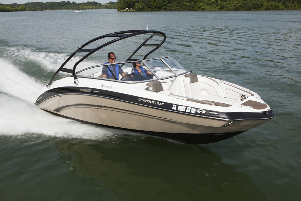 2013 Yamaha 242 Limited S Top Speed