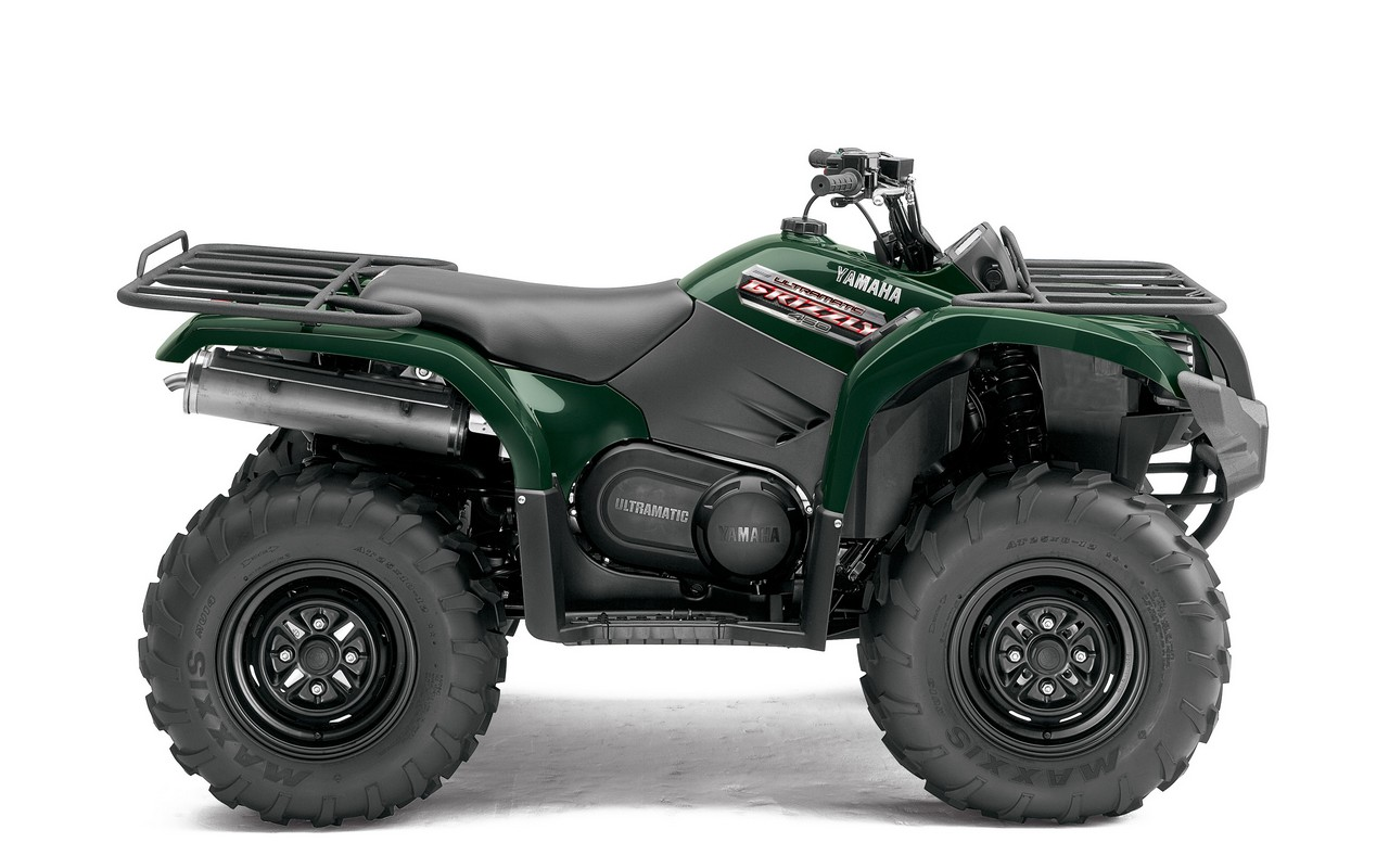 2013 Yamaha Grizzly 450 Auto 4x4 | Top Speed. »