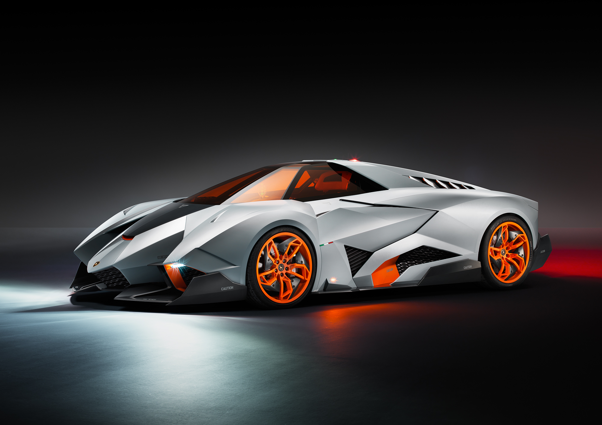 2013 Lamborghini Egoista Top Speed