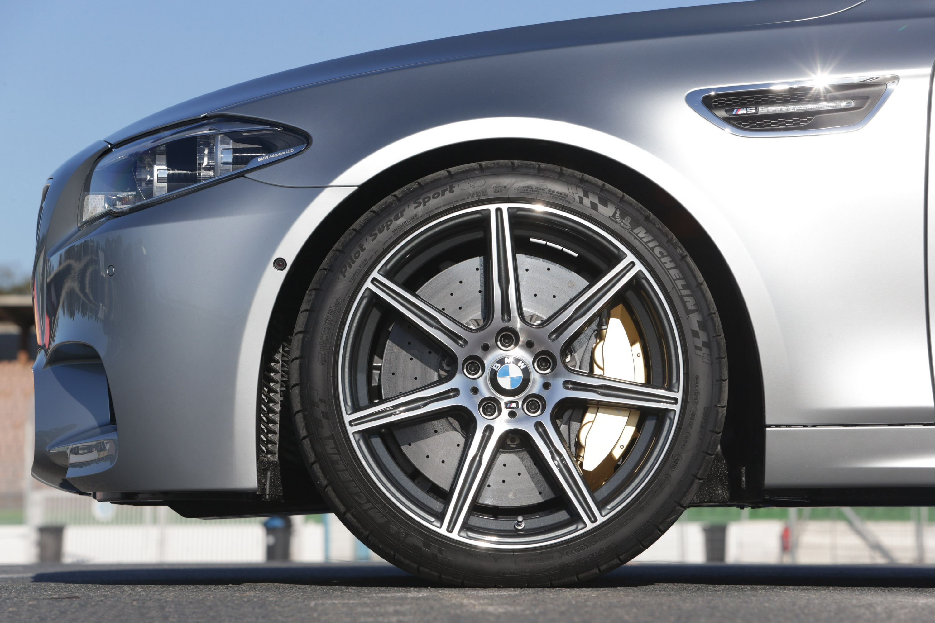 2014 BMW M5 Competition Package   Top Speed