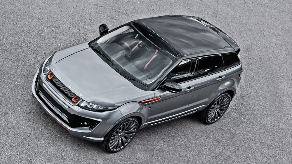 2013 Land Rover Evoque Rs250 Orkney Grey By Kahn Design