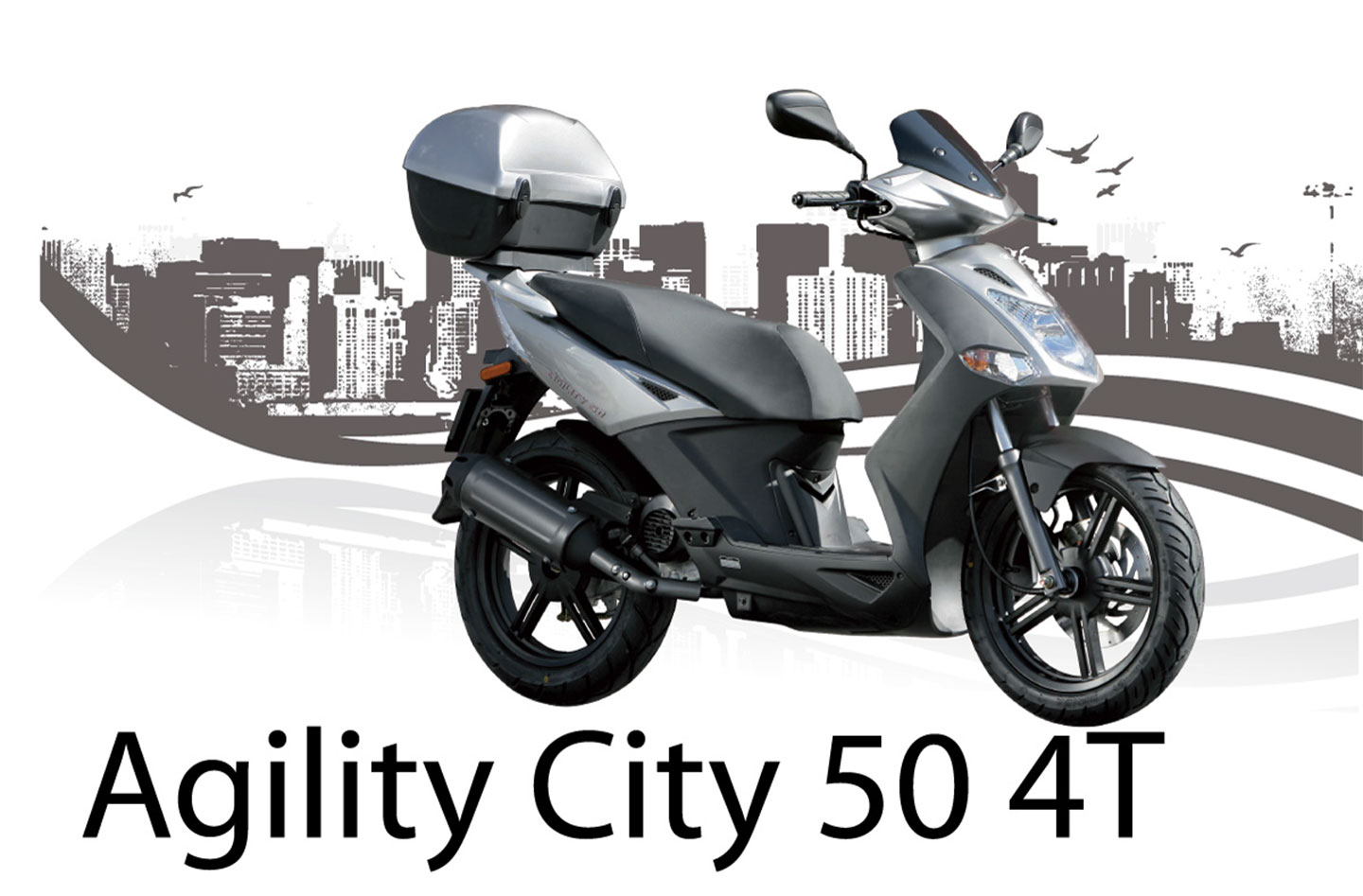 2013 Kymco Agility City 50 | Top Speed. »