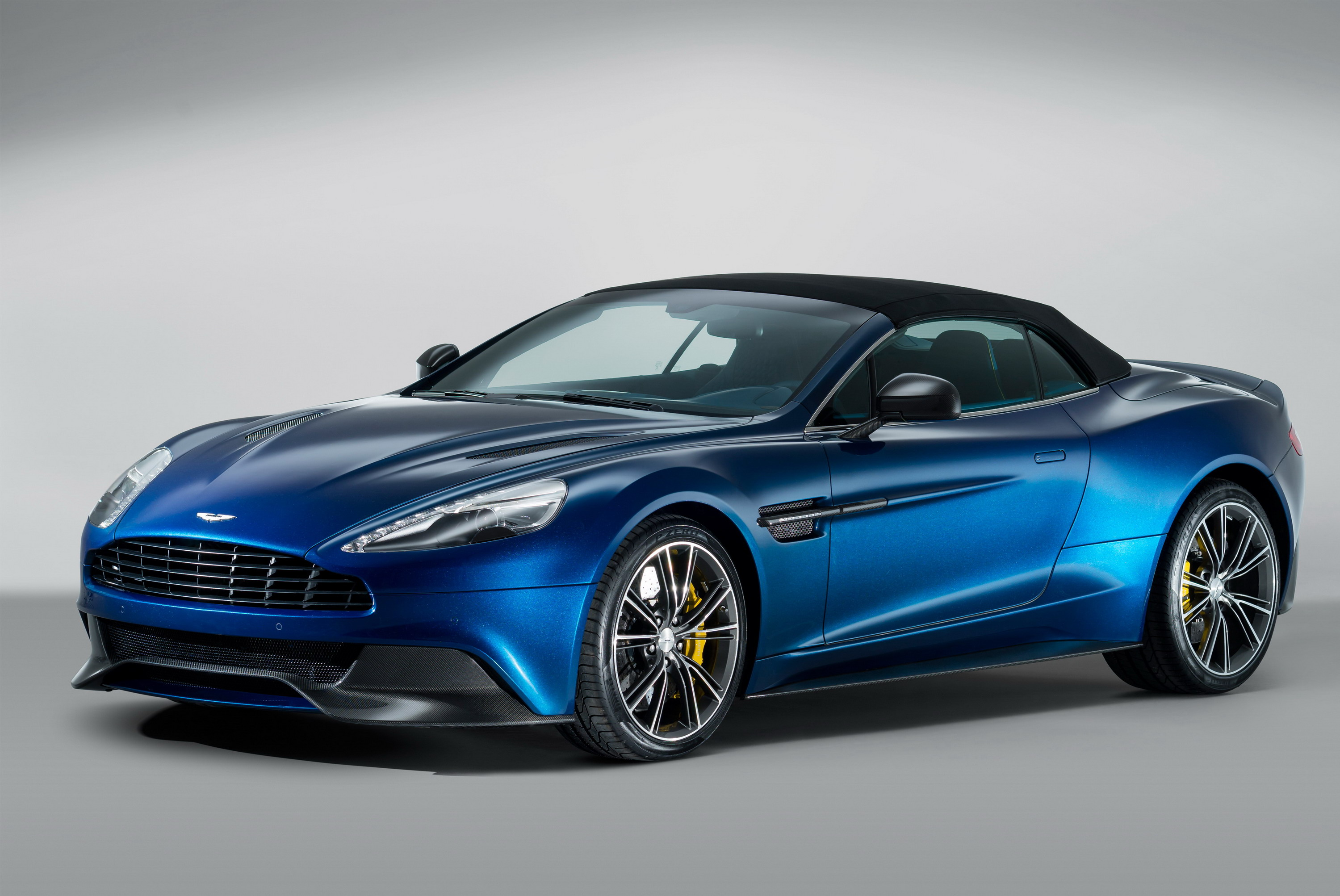 Aston Martin DB Volante By Q Top Speed - Los gatos aston martin