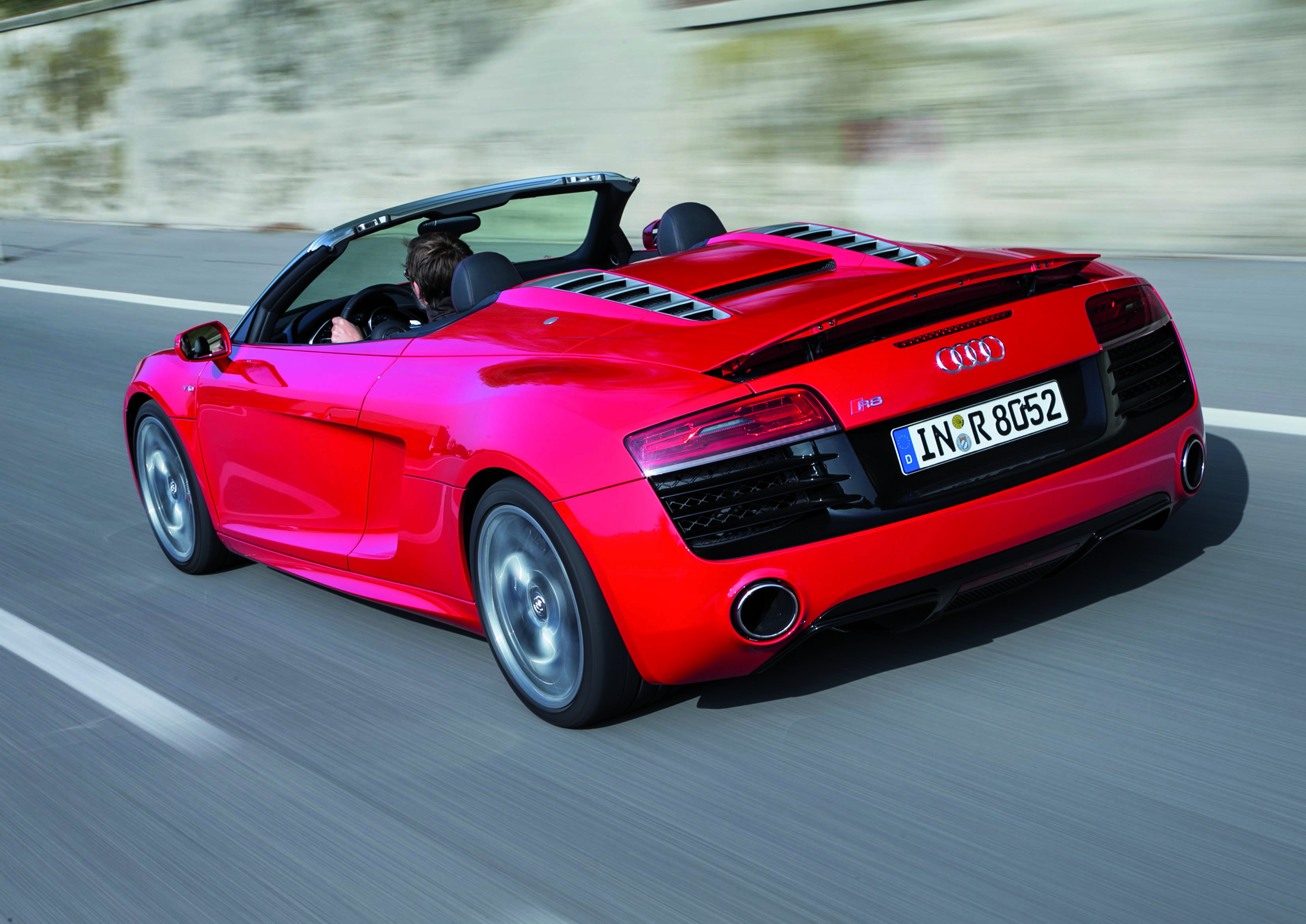 2014 - 2015 audi r8 spyder review - top speed