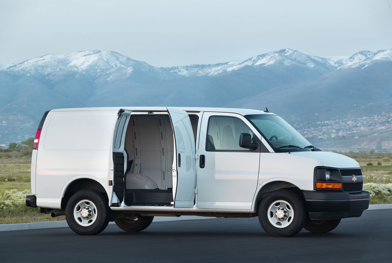 All Chevy 99 chevy express van : 2013 Chevrolet Express News - Top Speed
