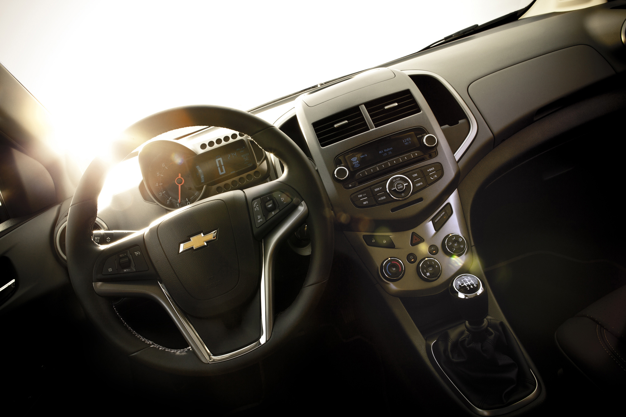 Chevrolet Sonic Owners Manual: Rear Safety Belt Comfort Guides