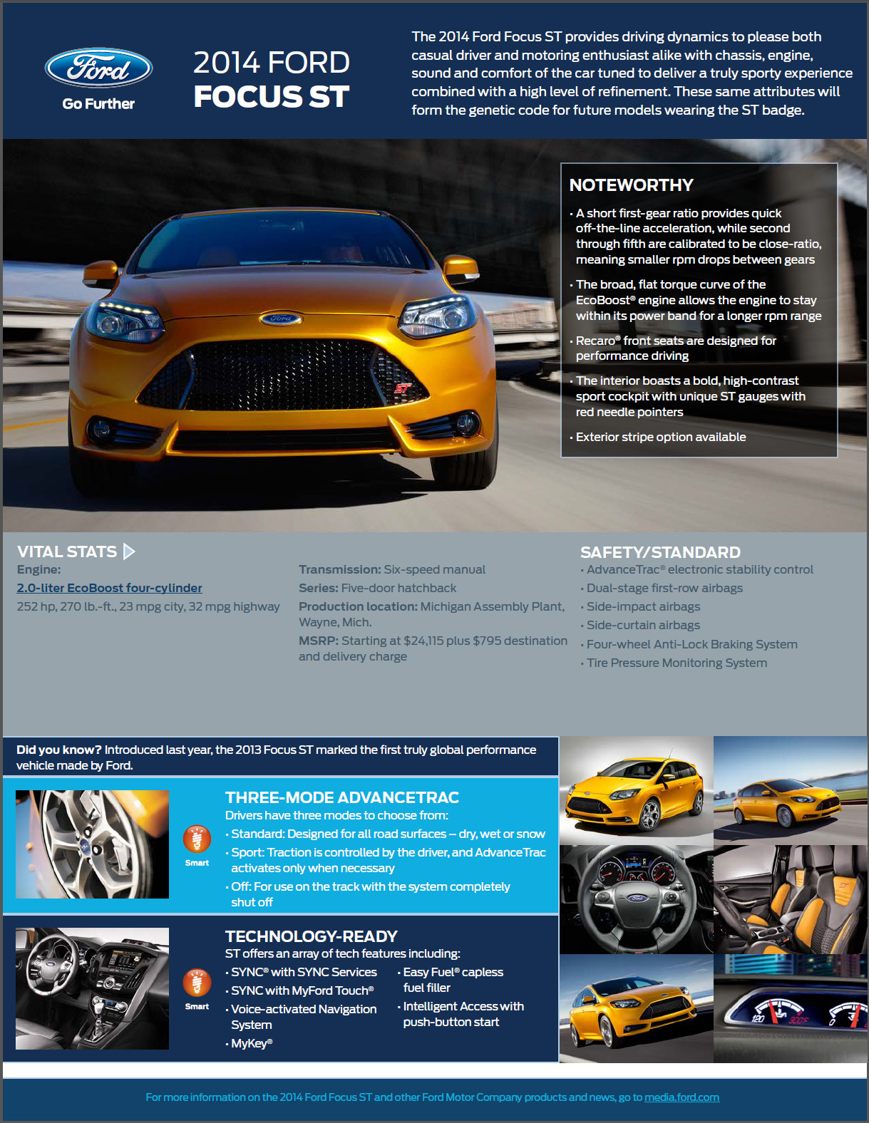 2014 Ford Focus ST | Top Speed