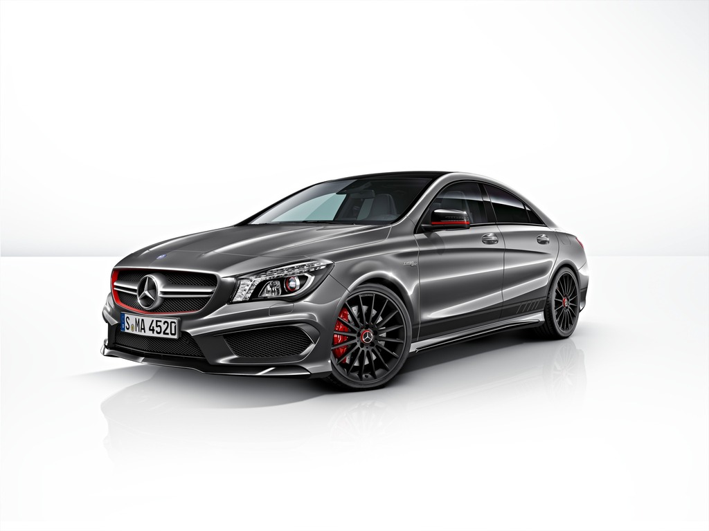 2014 Mercedes Cla 45 Amg Edition 1 Top Speed