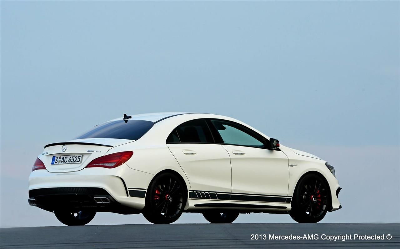 2014 Mercedes Cla 45 Amg Edition 1 Review Top Speed
