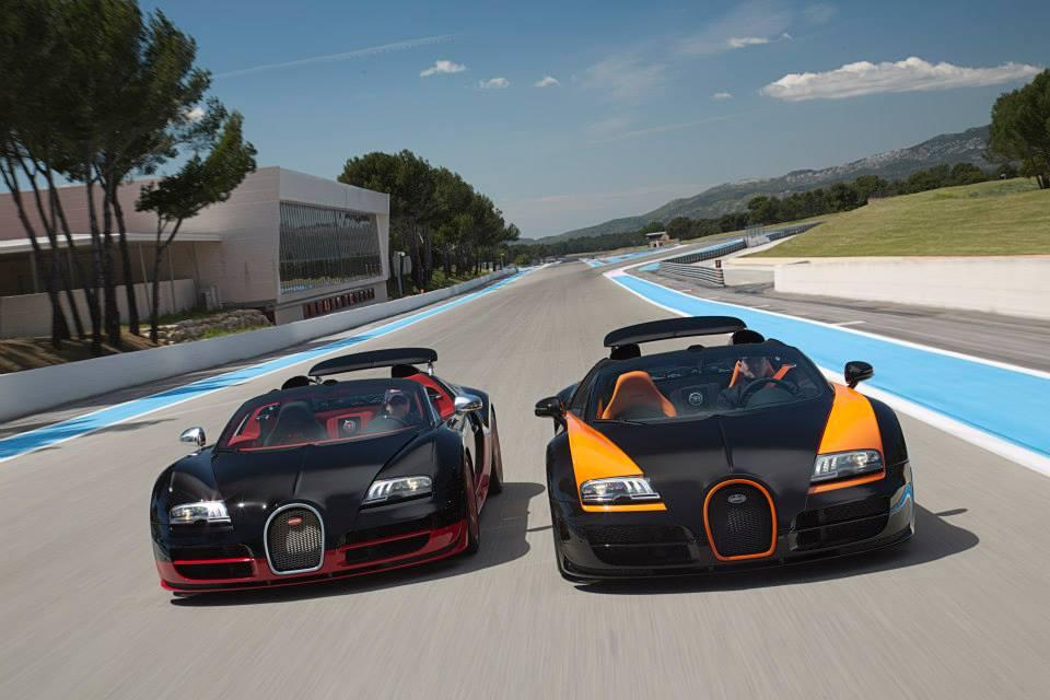 paul ricard circuit is invaded by bugatti veyrons news top speed. Black Bedroom Furniture Sets. Home Design Ideas