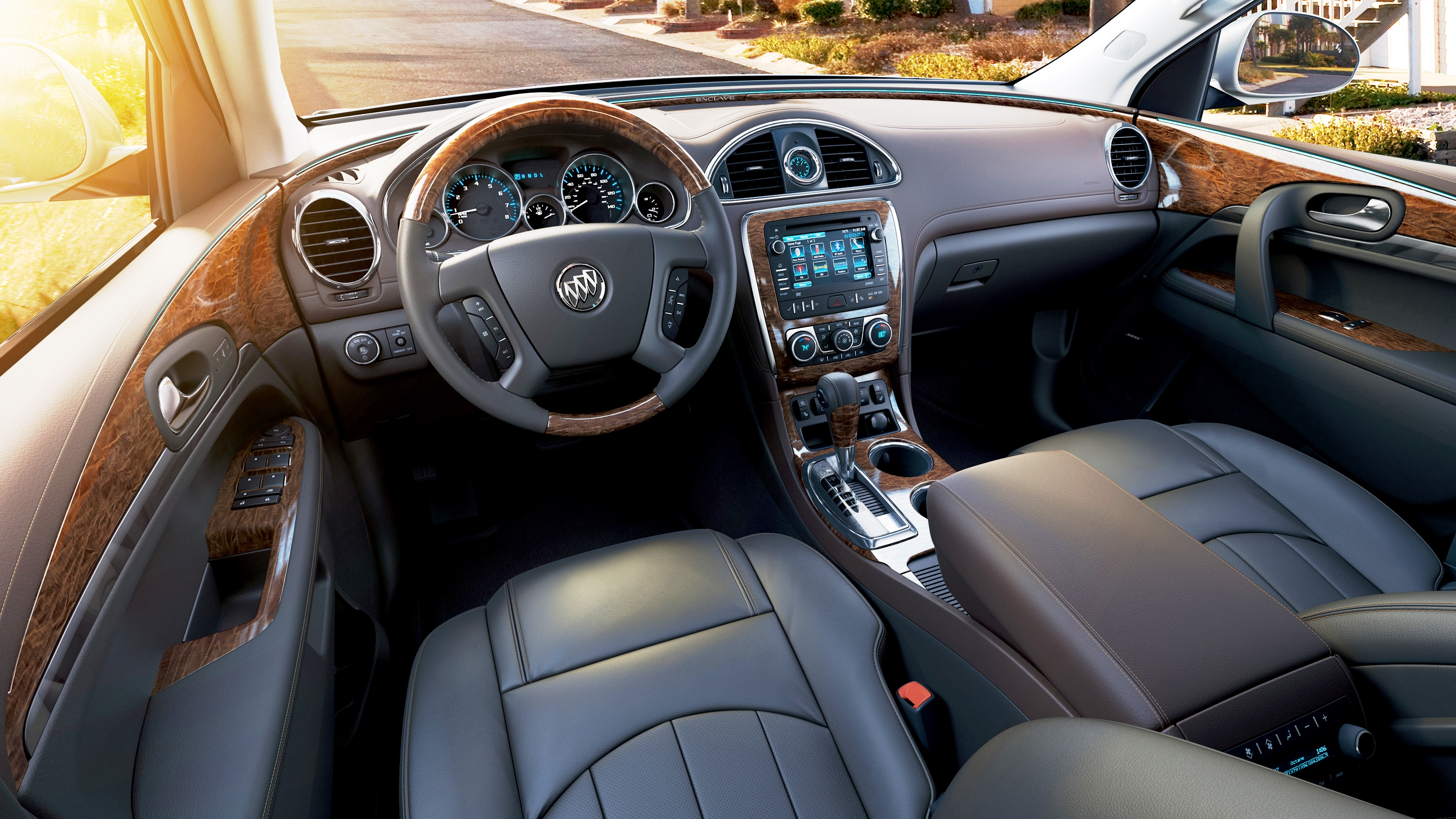 test created interior rapha driving buick road awd suv reviews enclave l premium with review enclaves