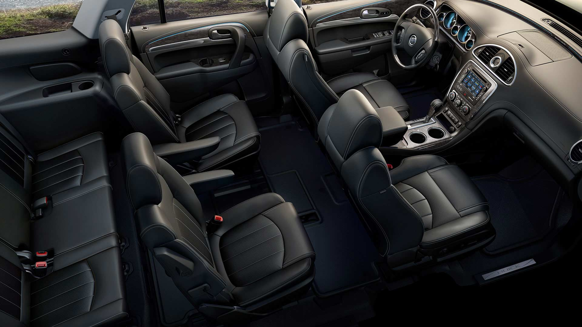 large crossover luxury interior the of buick full size enclave ca suv canada