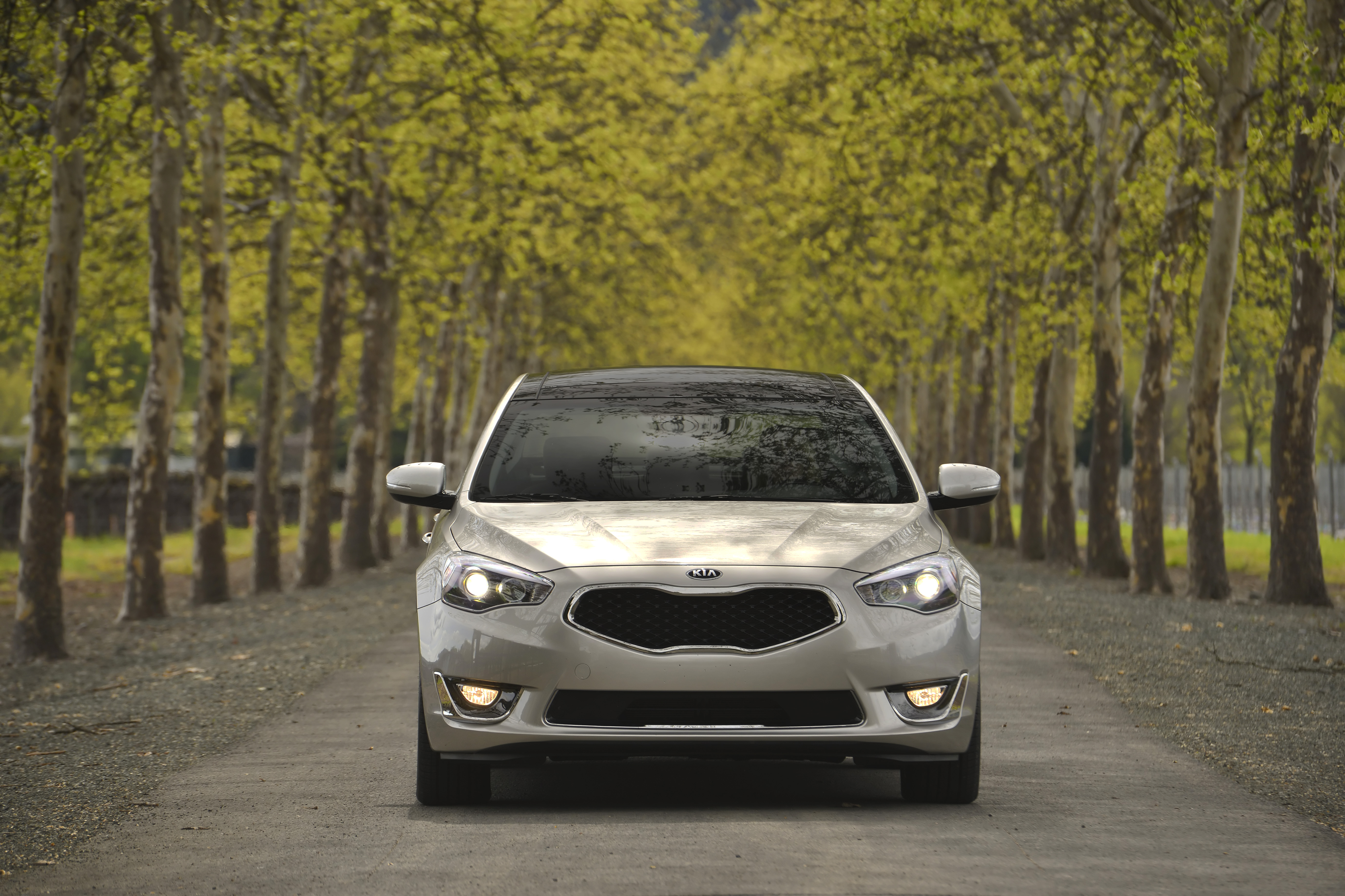 test comes cadenza john six road the safety topline loaded s leblanc features straight premium and with kia luxury