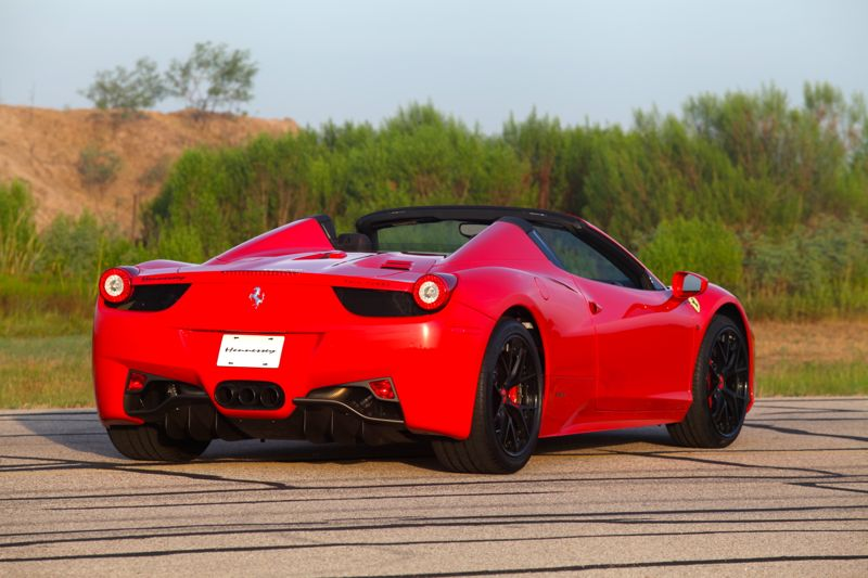 2013 Ferrari 458 Spider HPE700 By Hennessey Performance | Top Speed. »
