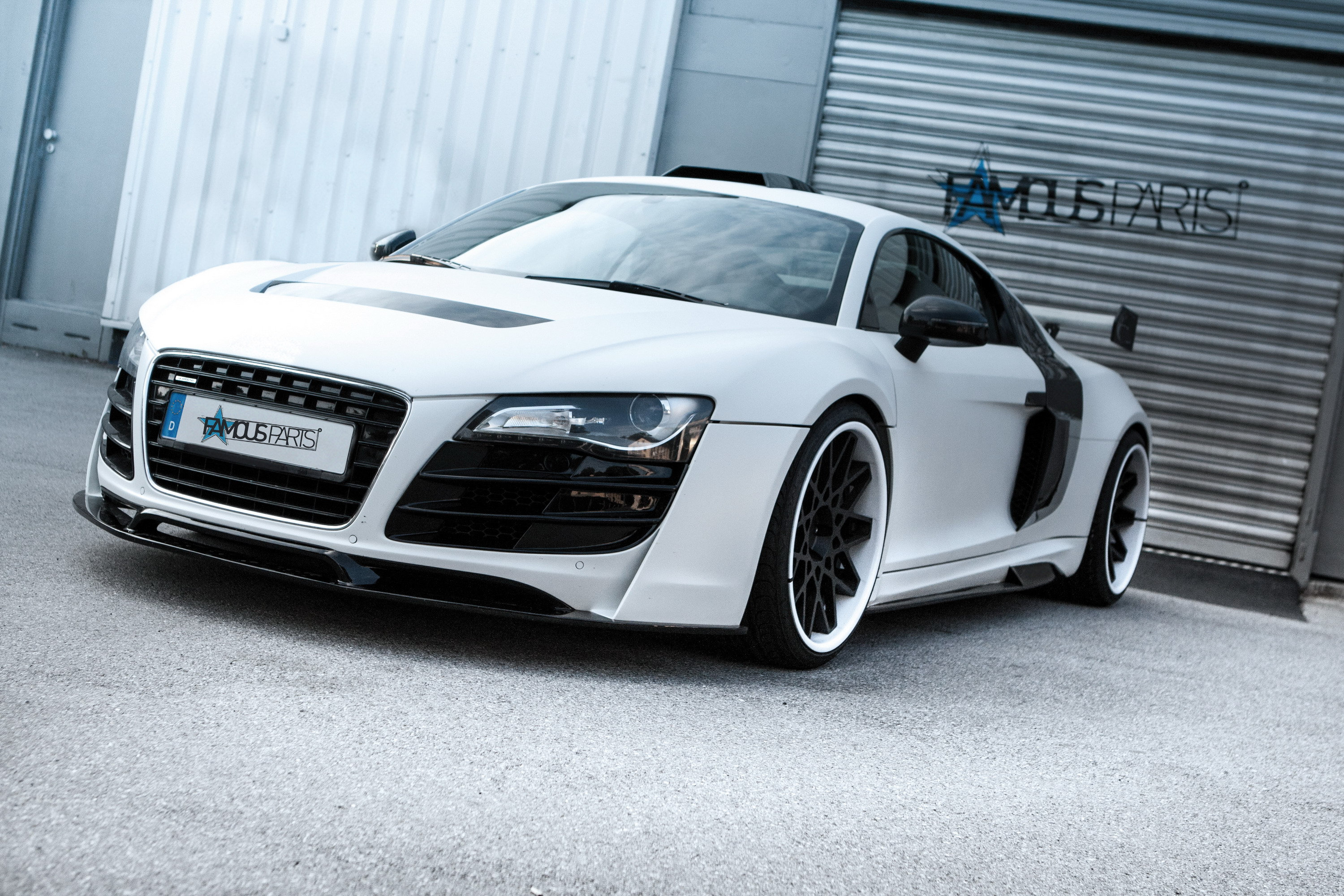 2014 Audi R8 PD-GT850 White Phoenix By Prior Design Review ...