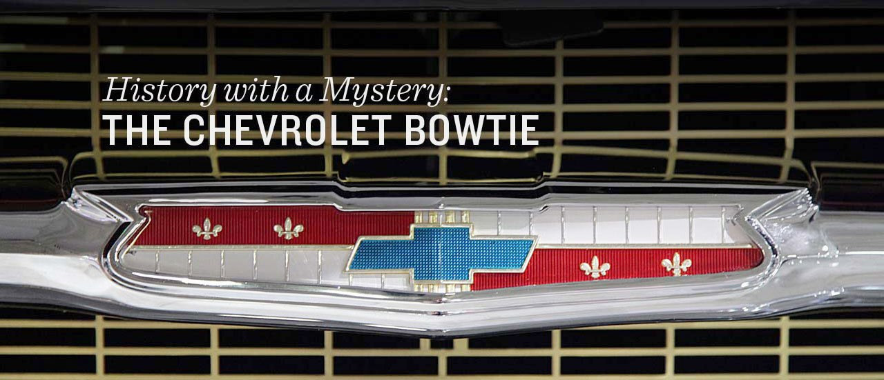 Origin Of The Chevrolet Bowtie Badge Revealed After 100 Years | Top