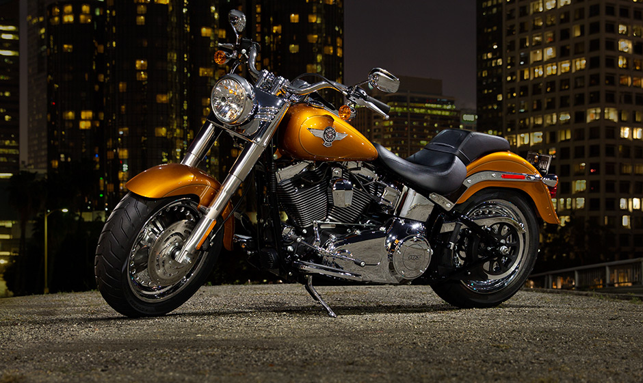2014 Harley Davidson Softail Fat Boy | Top Speed
