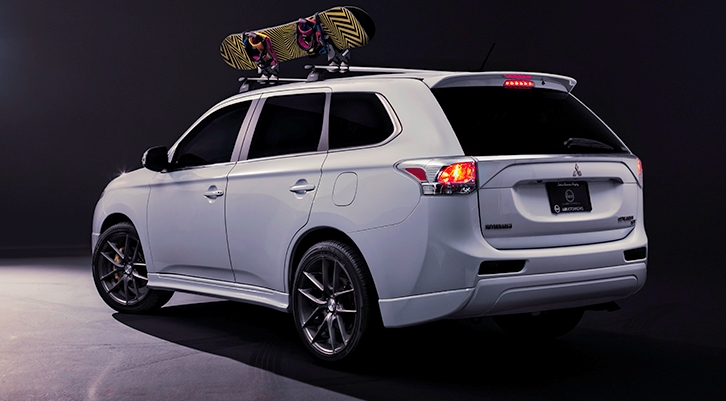 2014 Mitsubishi Outlander H360 Winter Edition | Top Speed