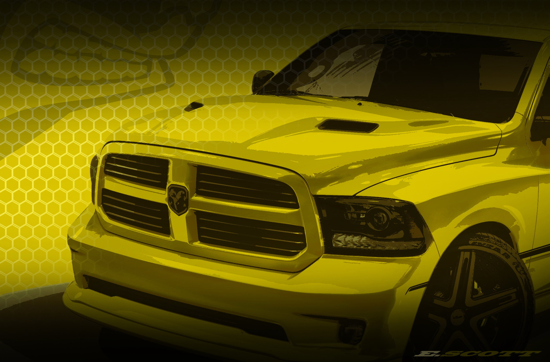 F 150 Tremor >> 2014 Ram 1500 Rumble Bee Concept Gallery 518892 | Top Speed