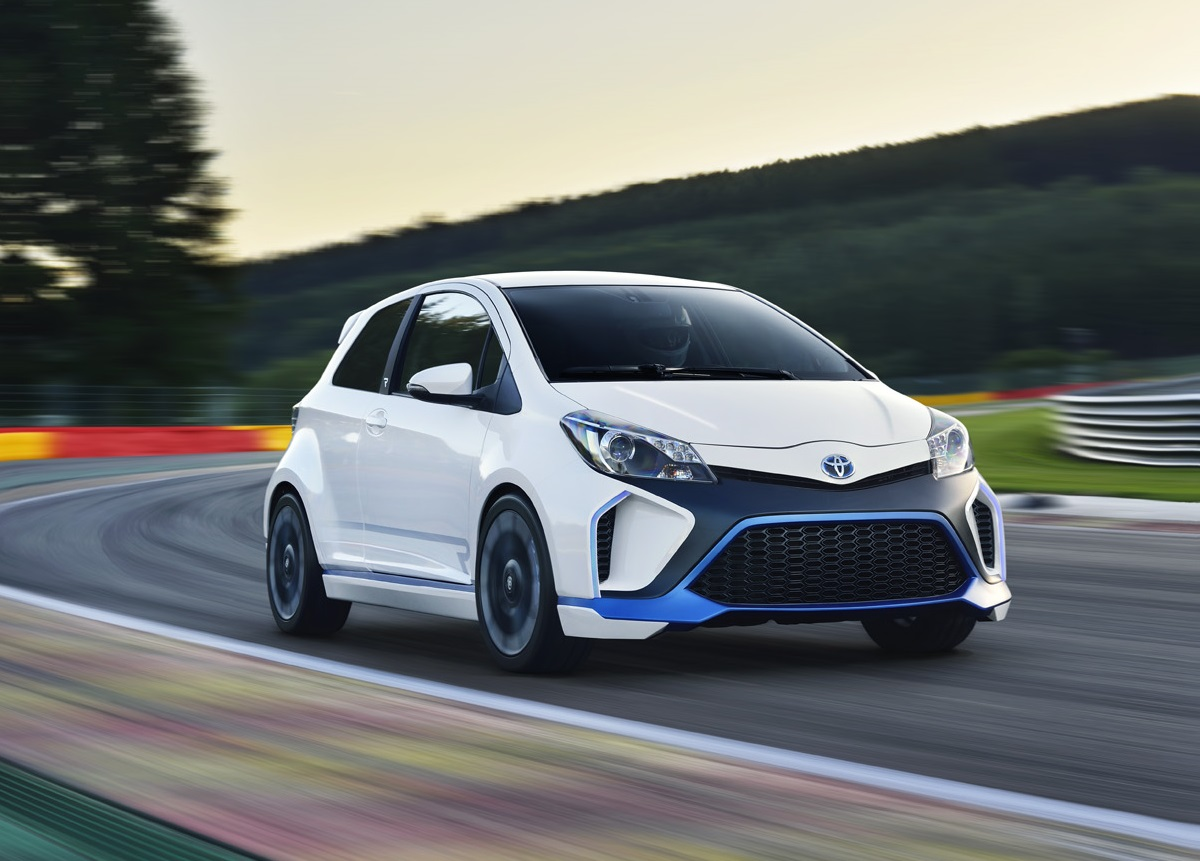 2013 Toyota Yaris Hybrid R Concept | Top Speed. »