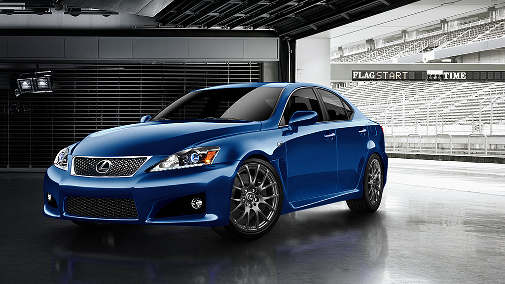 2014 Lexus IS F Review - Top Speed