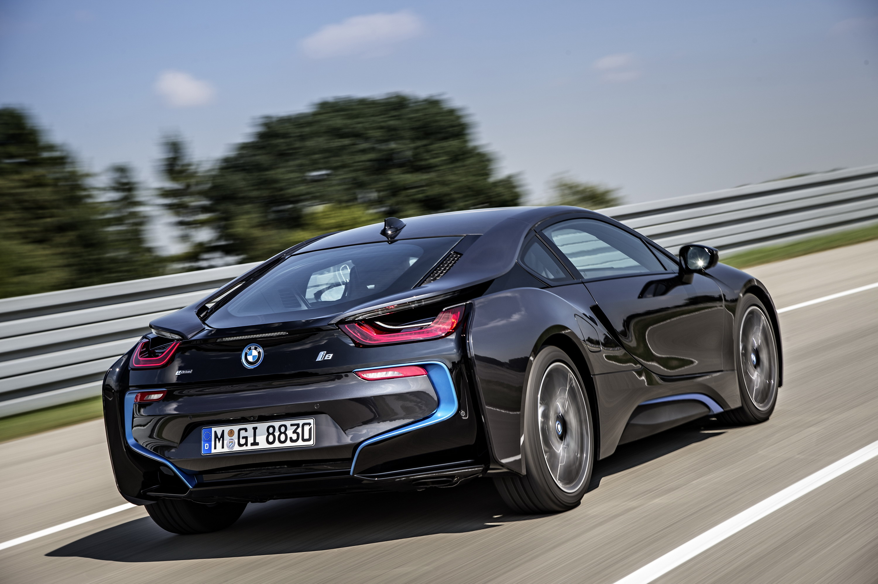 2015 bmw i8 sophisto grey review - top speed