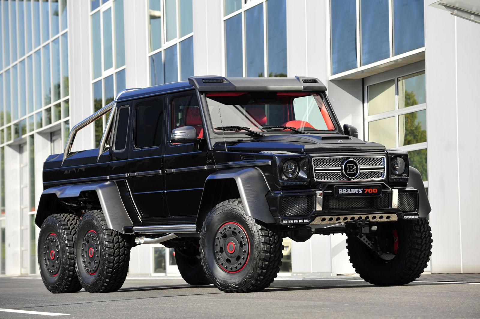2013 Mercedes Benz G63 Amg 6x6 B63s 700 By Brabus Top Speed