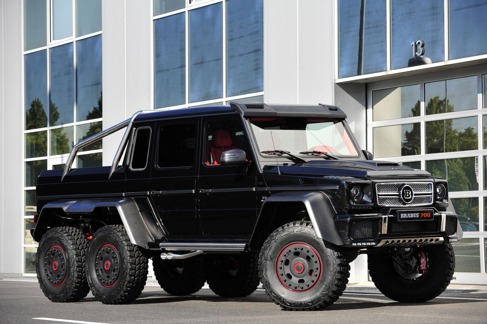 2013 mercedes-benz g63 amg 6x6 b63s-700brabus review - top speed