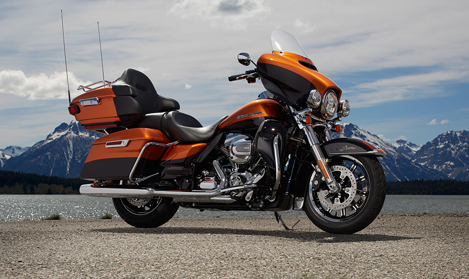 2014 Harley Davidson Ultra Limited   Top Speed