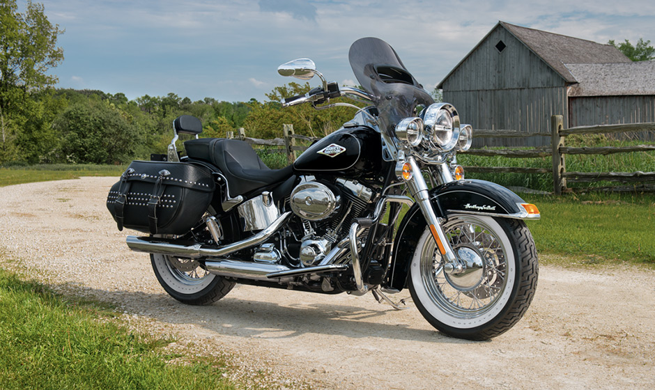 2014 Harley Davidson Heritage Softail Classic | Top Speed