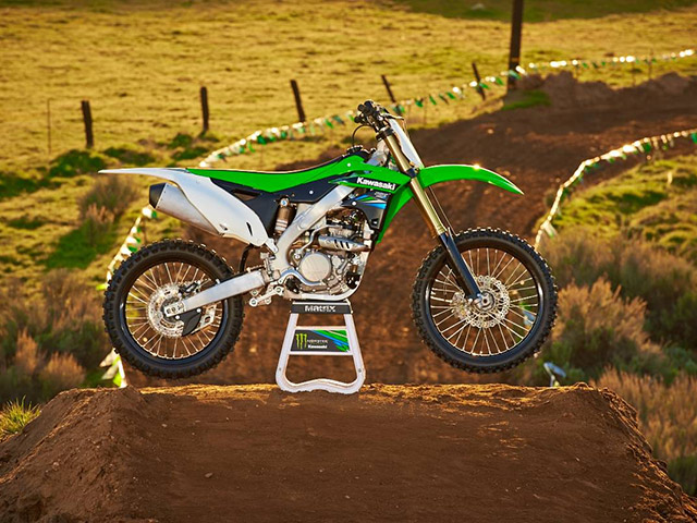 2014 Kawasaki KX250F | Top Speed